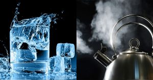 Hot and Cold Water for Uveitis