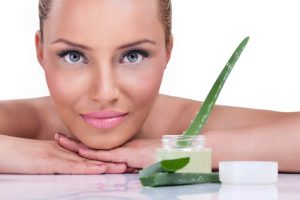 Aloe Vera Gel Massage