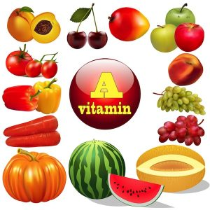 Vitamin A and C