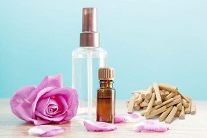 Rose Water and Sandalwood Powder for Sebaceous Cyst