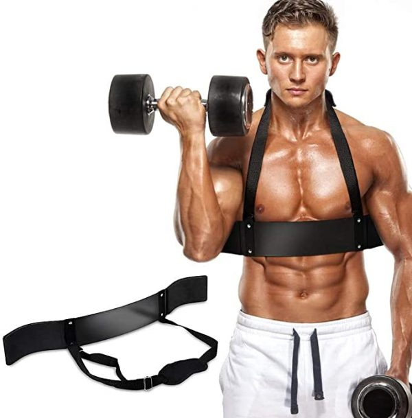 Arm Blaster Bicep Curl Support Blaster Body Building Bomber