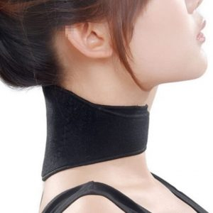 Self Heating Magnetic Infrared Neck Heat Pad Brace Support Collar Pain Relief